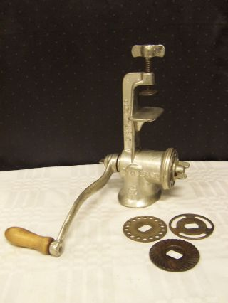 Keystone No.  20 Meat Grinder With 4 Blades Made In Usa - Wonderful photo