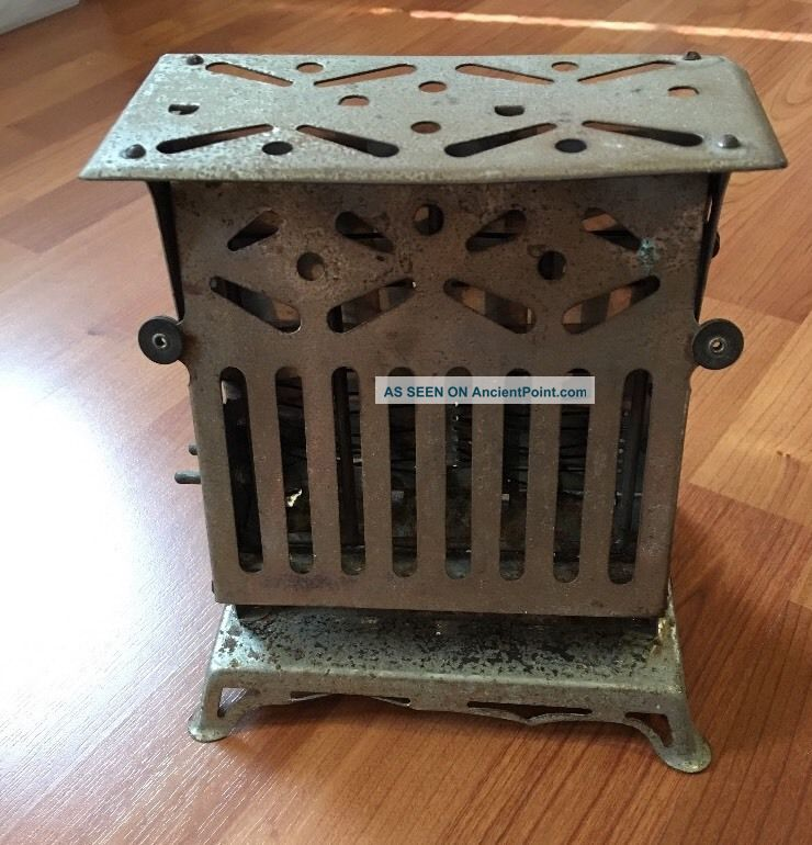 Antique Pat.  1914 Toaster Marion Giant Flipflop Model 66 By Rutenber Electric Toasters photo