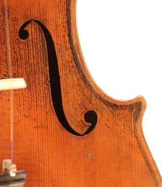 Italian Solo Violin G.  Pedrazzini 1924 Geige Violon Violino Violine 小提琴 バイオリン photo