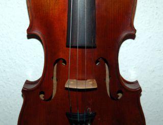Fine Antique German 4/4 Master Violin - Brandmaked Stainer photo