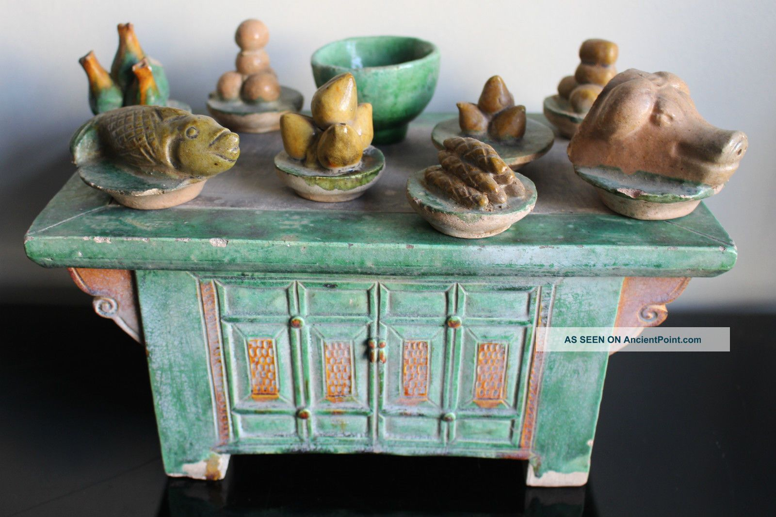 Chinese Ming Dynasty Offering Table Chinese photo