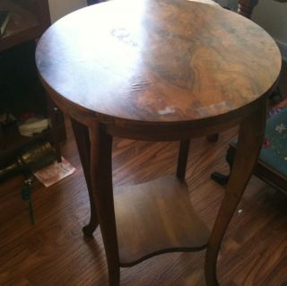 Antique Stand,  Fine Finish,  Ships For $49 Via Greyhound,  Make Offer photo