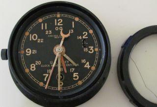 Vintage Us Army Chelsea Clock Co.  Boston photo