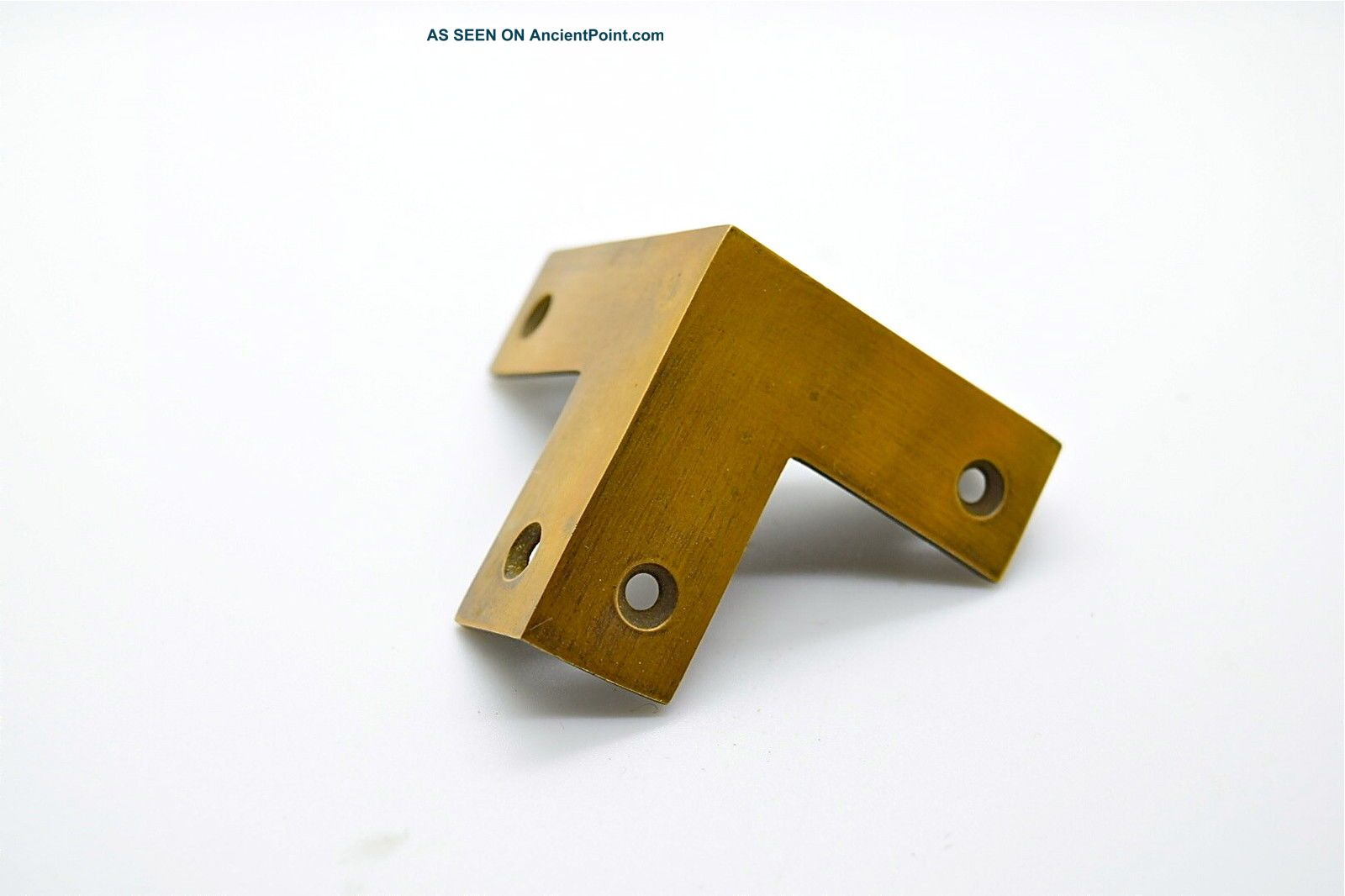Vintage Brass Corner Protector.  50mm Long X 19mm Wide