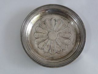Rare Art Deco Christofle Silver Plated Trinket Dish Tray 1920 ' S photo