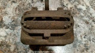 Rusty Prop Decor Cast Iron Kerosene Oil Heater Burner Cleveland Clevland Fdy Co photo