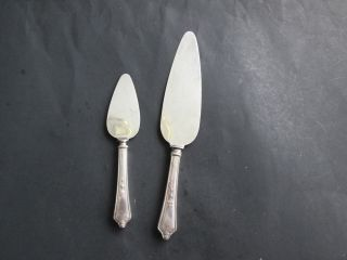Pie Server & Pastry Server - Gorham 1914 Shelburne Pattern photo