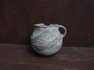 Anasazi Chaco Mug Pot 1200 - 1400 Ad G - 8 From Sam Johnson Nr photo