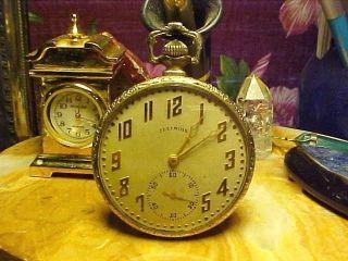Pocket Watch Size 16 Illinois Philharmonic Orchestra 1922 Running photo
