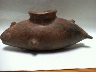 Antique Whale Marine Mammal Ceramic Drinking Vessel photo
