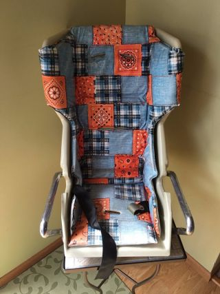 Vintage Collier Bobby Mac Baby Chair Vintage Child Car Seat Baby Car Seat photo