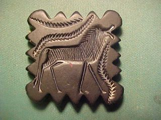 Bactrian Bi - Facial Seal Amulet Circa 1st Millennium Bc. photo