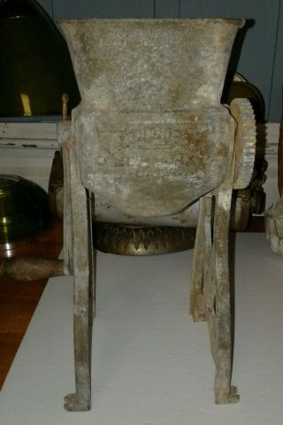 Chandler ' S Ice Cutting Machine Crusher Antique 1890 photo