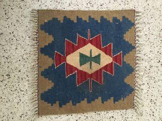 Vintage Navajo Rug Small 17