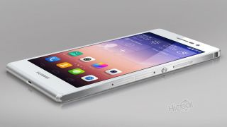 Huawei Ascend P7 4g Lte Mobile Phone Android4.  4 Quad Core 13mp 5
