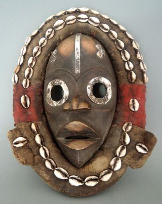 Liberia: Old - Tribal - African Mask From The Dan People. photo