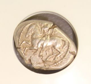 425 - 350 Bc Cilicia,  Celenderis Ancient Greek Silver Stater Ngc Ms 3/5 5/5, photo