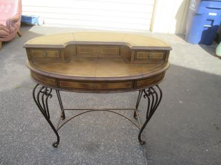 57119 Quality Vanity Desk With Metal Base photo