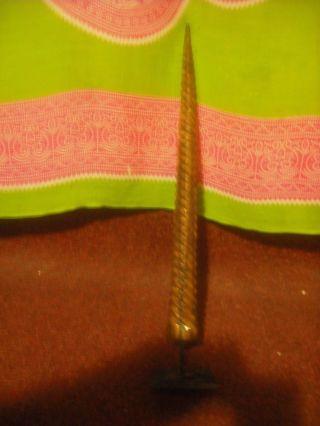 Vintage Carved Marlin Bill Rare Sword Spear Aboriginal East Timor Stunning Rare photo