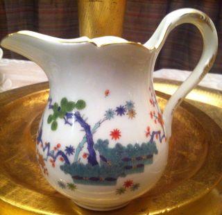 Meissen Creamer Kakiemon Antique,  Birds,  Porcelain photo