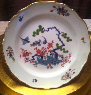 Meissen Kakiemon Plate Antique,  Birds,  Porcelain photo