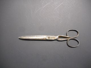 Vintage E.  J.  A.  B.  Eskustuna Scissor ' S.  Made In Sweden.  Approx.  6 Inches.  Good, . photo