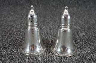 Vintage Sterling Silver Salt & Pepper Shakers 3