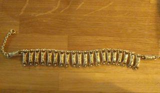 Antique Ottoman Greek Silver Gilt Necklace Filigree Chain 19th. photo