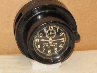 Chelsea U.  S.  Navy Boat Clock Ser 429073 4