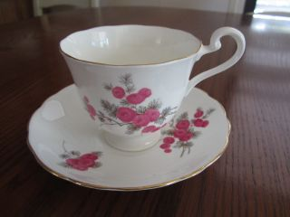 Vintage Radfords Crown China Tea Cup And Saucer Made In England photo