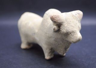 Indus Valley Bronze Age Terracotta Bull Figurine 2200 - 1800 Bc photo