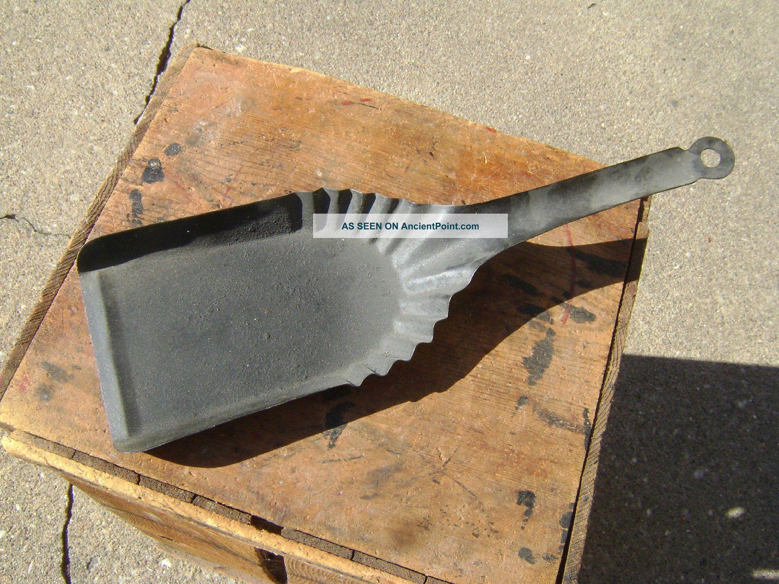 Useful Vintage Short Fireplace Coal Shovel. Hearth Ware photo