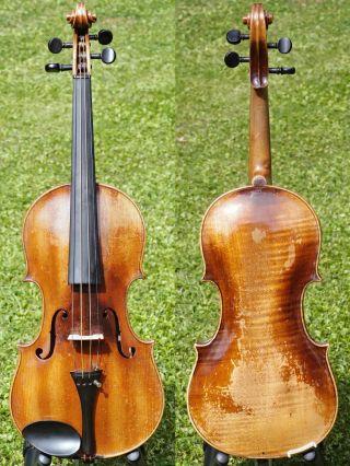 Antique Violin Labelled Francesco Ruggieri,  Cremona.  Wonderful Sound photo