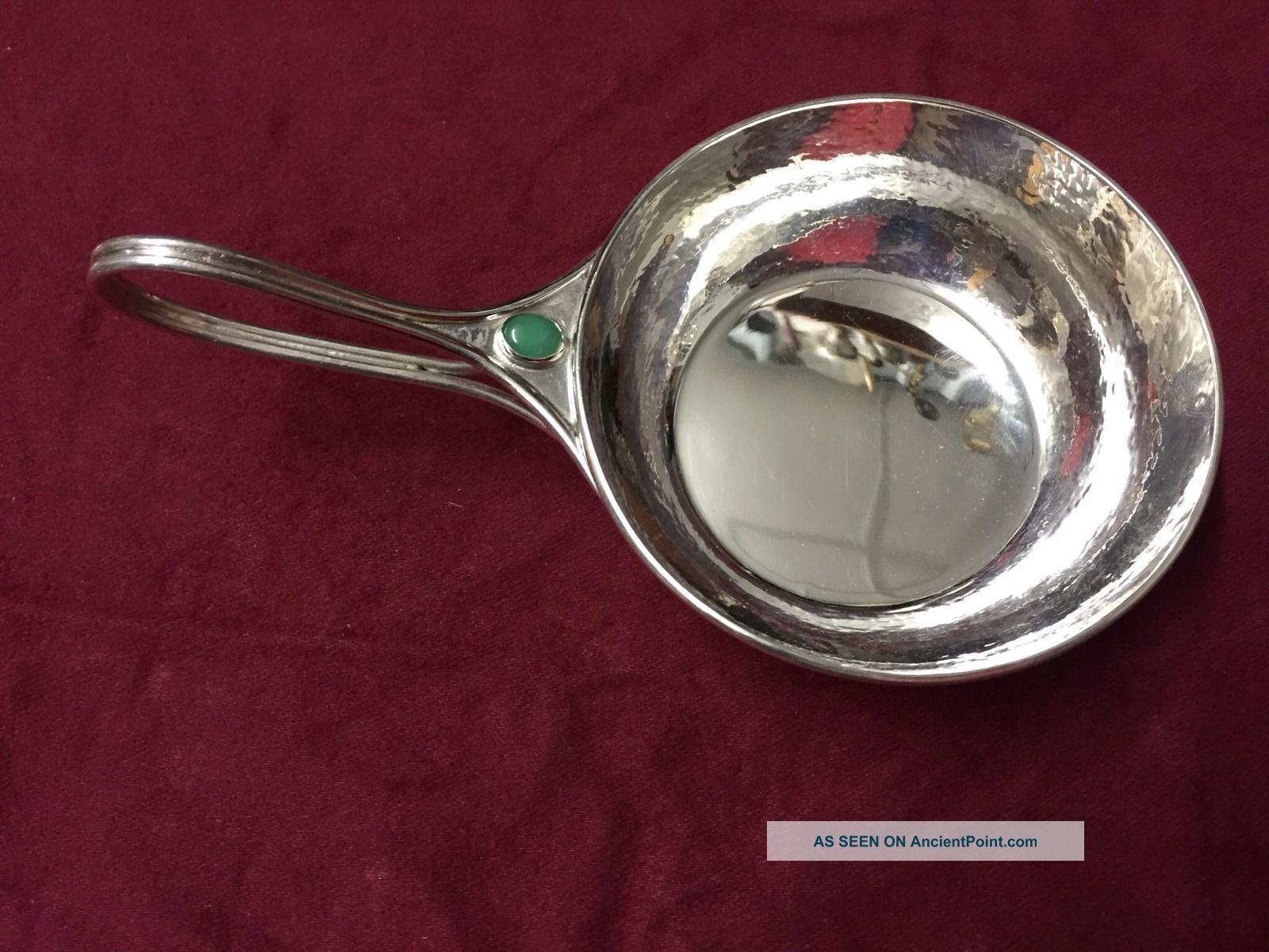 Guild Of Handicraft Solid Silver Bowl / Porringer London 1940 Bowls photo