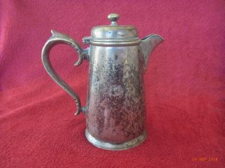 Harrods - Silver Plate - Coffee Or Hot Water Pot - (1913 - 1940) ? photo