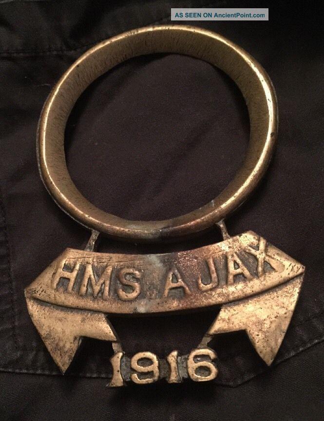 Rare Antique Royal Navy