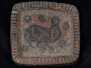 Ancient Teracotta Painted Cup With Animals Indus Valley 2500 Bc Pt15466 photo