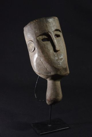 Old Mask With Handle - West Timor - Indonesia photo