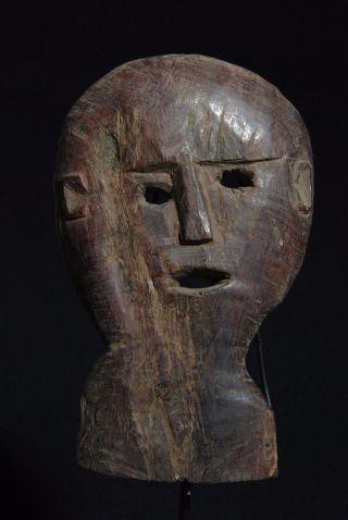 Wood Mask - Atoni - West Timor photo