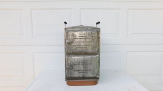 Antique Copper Tin Schwatzbaugh Conservo Cooker Canner In Good photo