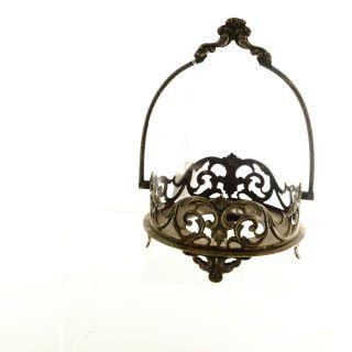 Victorian Silver Plate Holder For A Bon Bon Dish (ms3) photo