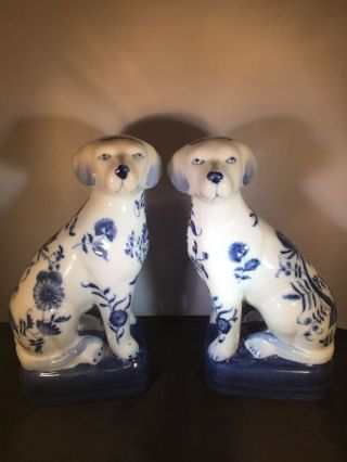 Asian Antiques China Statues Dogs