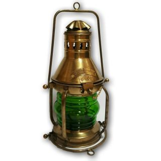 Oil Lantern Vintage Art Kerosene Marine Old Hanging Ship Boat Lamp V15usf Ml 06 photo