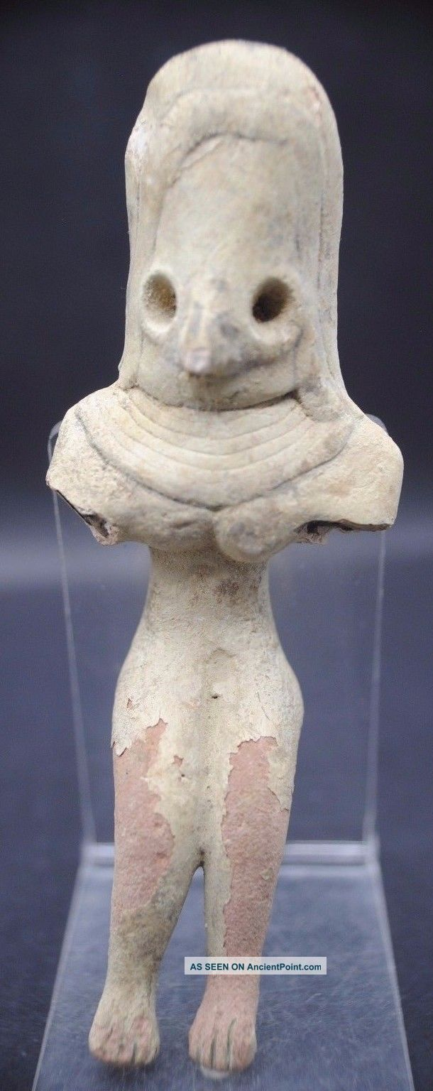 Rare Ancient Indus Valley Fertility Idol From The Harappa Culture 3300 - 1200 Bc Near Eastern photo