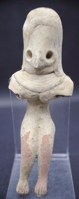 Rare Ancient Indus Valley Fertility Idol From The Harappa Culture 3300 - 1200 Bc photo