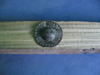 Ancient Celtic Bronze Druids Pendant Applique 600 - 400 Bc Very Rare photo