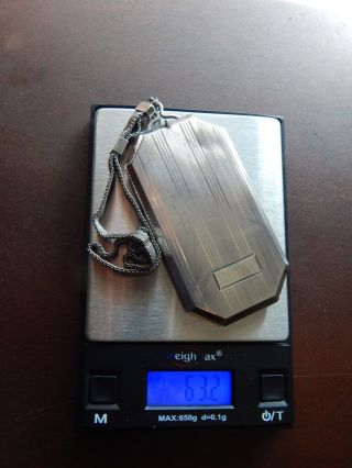 Antique Sterling Silver Compact Wallet Dance Purse Hallmarked photo