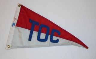 Tilgham On Chesapeake Yacht Club Nautical Boat Flag Pennant Colonial Flag Co photo