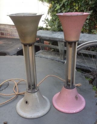 A Rare Art Deco Hosiery Lamps & Heaters.  Rare Rare Rare photo