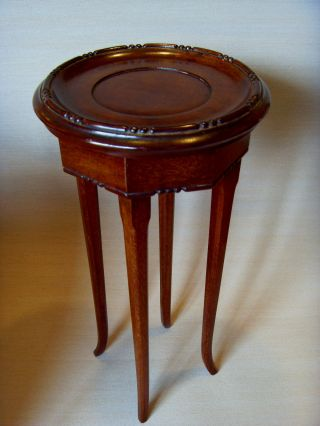 Early Vintage 20thc Chinese Wooden Stand,  Made For Pots Or Ornaments. photo